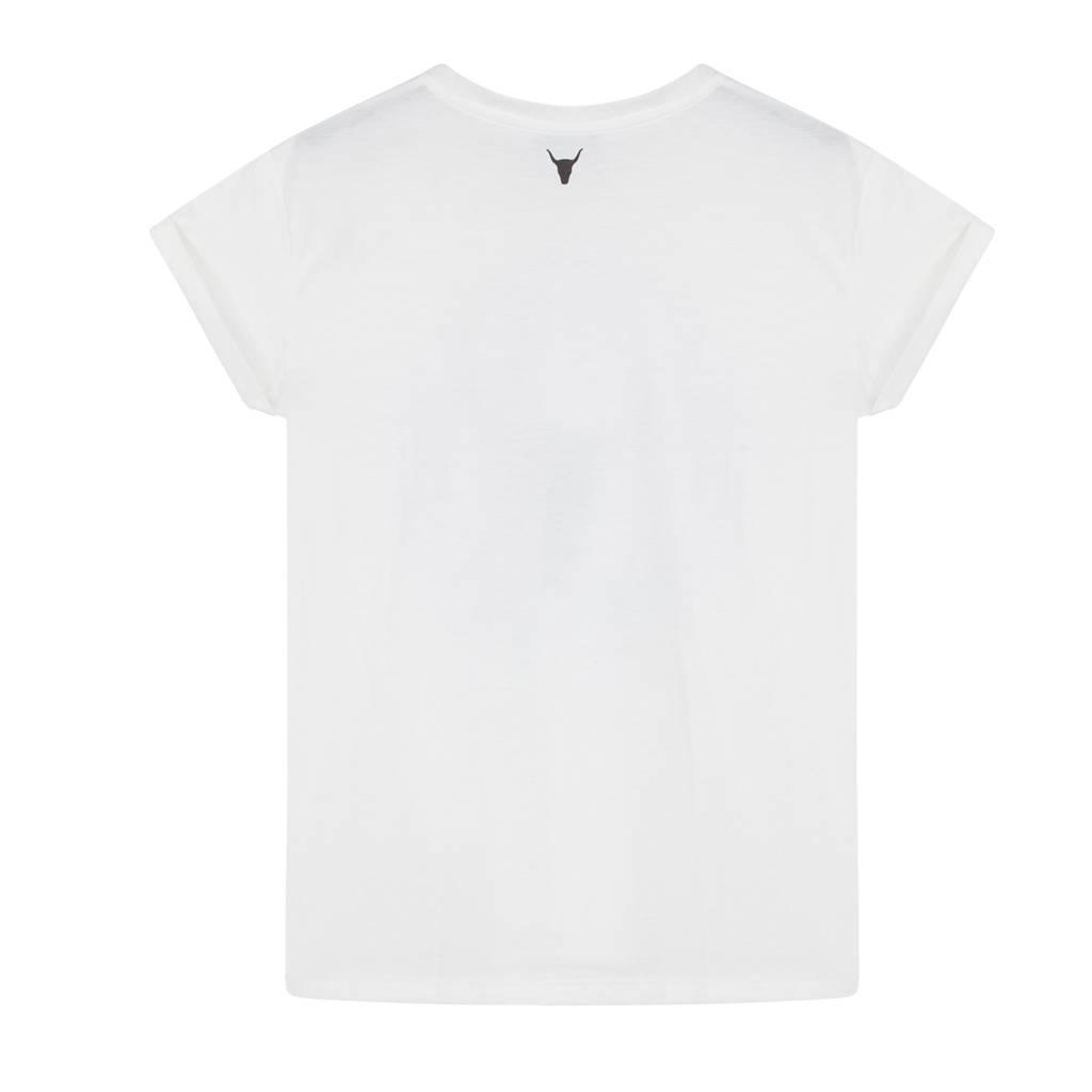 Alix The Label Bull boxy t-shirt (off-white)