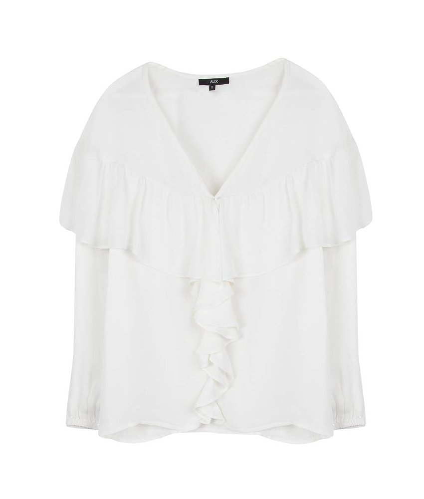 Alix The Label Light crepe blouse