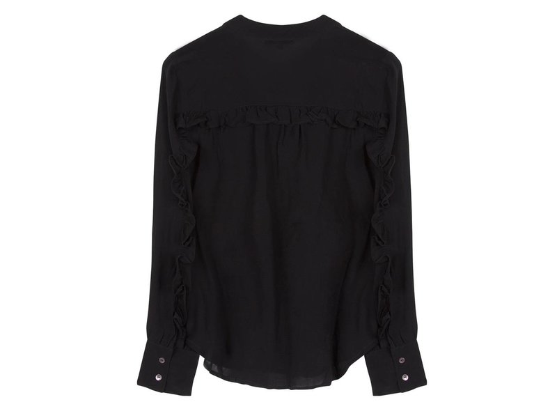 Alix The Label Crepe blouse met ruche band