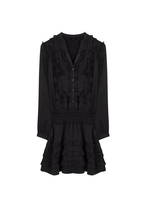 Alix The Label Shiny dress (black)