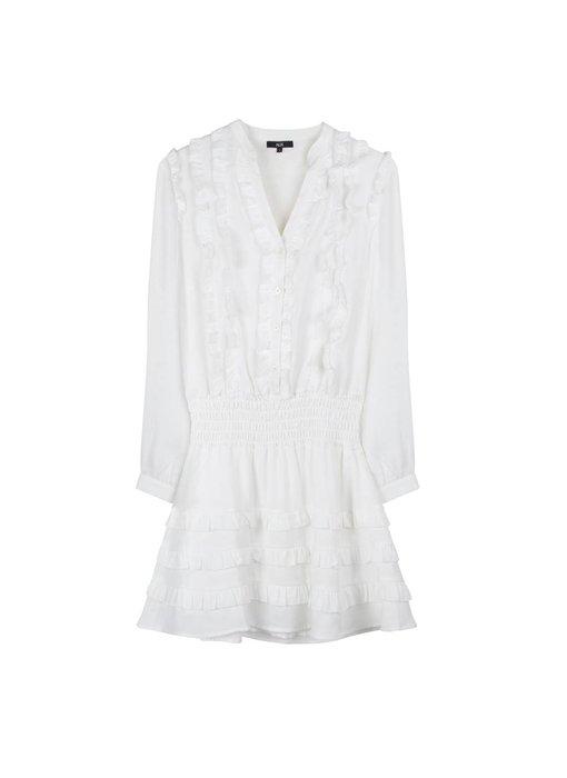Alix The Label Shiny dress (off-white)
