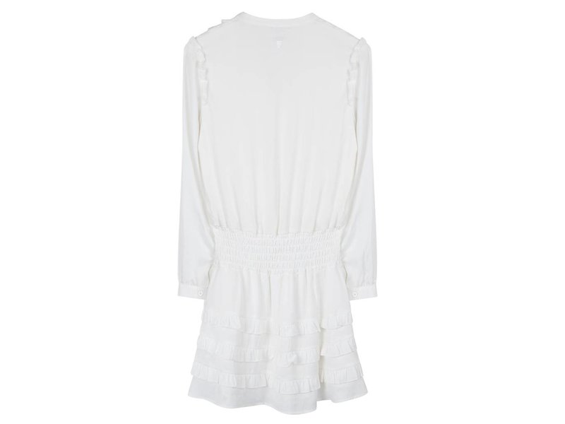 Alix The Label Shiny dress (off-white)