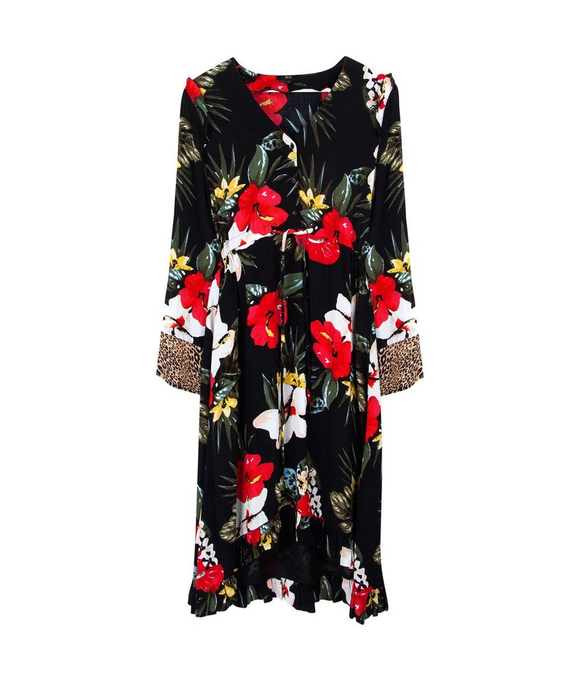 Alix The Label Long flower dress