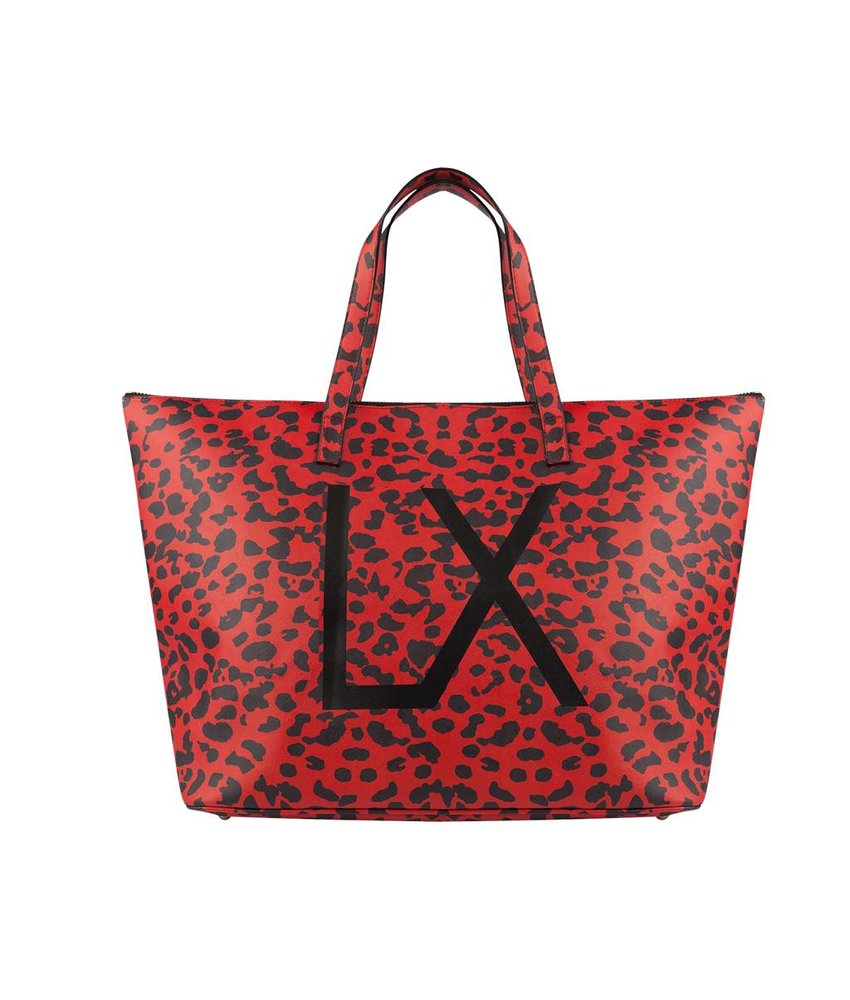 Alix The Label Leopard large bag