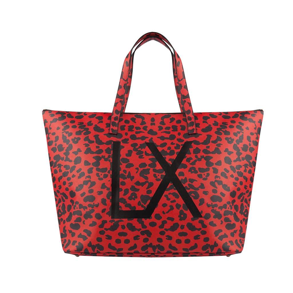 Alix The Label Leopard large bag