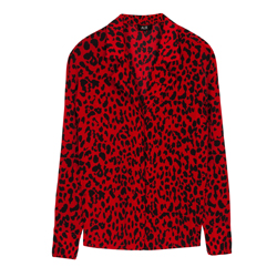 Blouse leopard print Alix the label kopen