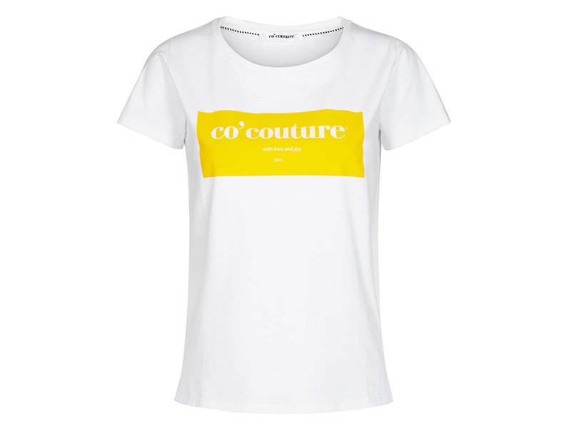 Co'couture Laurel tee