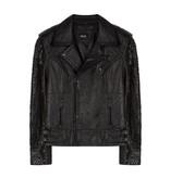 Alix The Label Leather Jacket