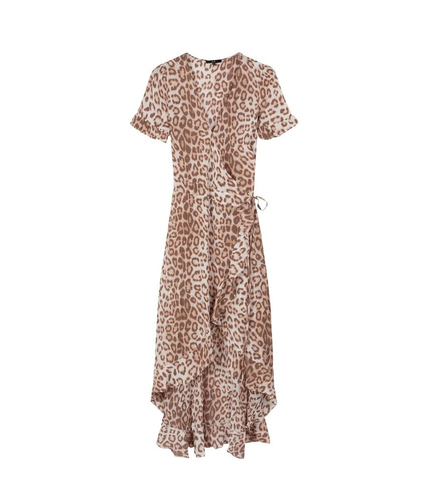 Alix The Label Animal wrap dress