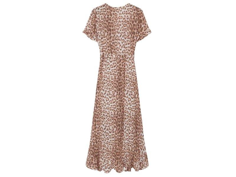 Alix The Label Animal wrap dress