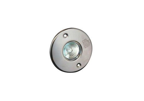 Allfit RVS lampinzet midi 50 Watt/12 Volt