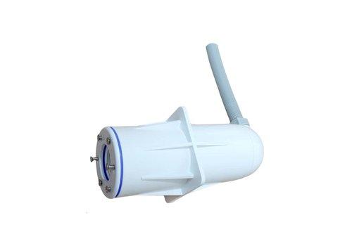Spectravision wanddoorvoer met wartel