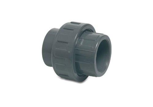 PVC koppeling 3 delig 63 mm