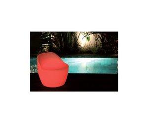 Lichtgevende fauteuil zwembad tuin zwemonline zwemonline