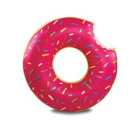 thumb-Opblaasbare zwemband aardbeien donut-3