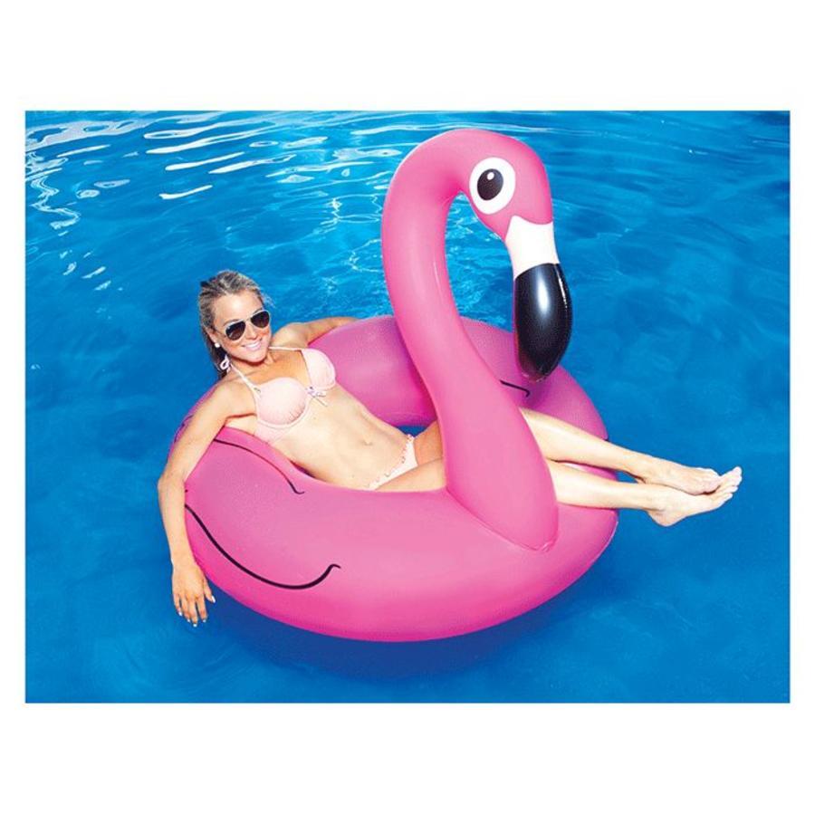 Opblaasbare flamingo roze