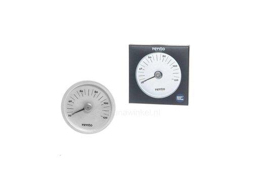 Design sauna thermometer aluminium