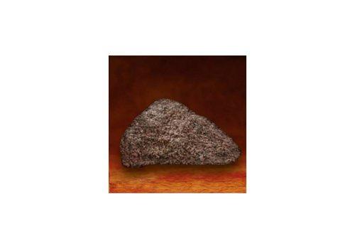 Granietsteen rode gloed sauna - klein