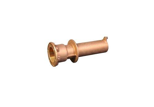 Allfit wanddoorvoer (brons)