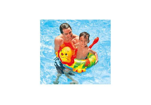 Intex big animal zwemband aap