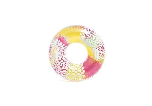 Intex transparante zwemband gekleurd