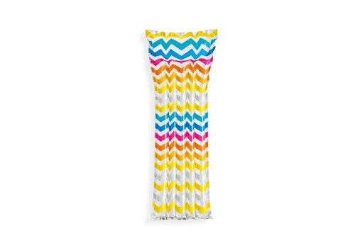 Intex opblaasbare luchtbed stripes
