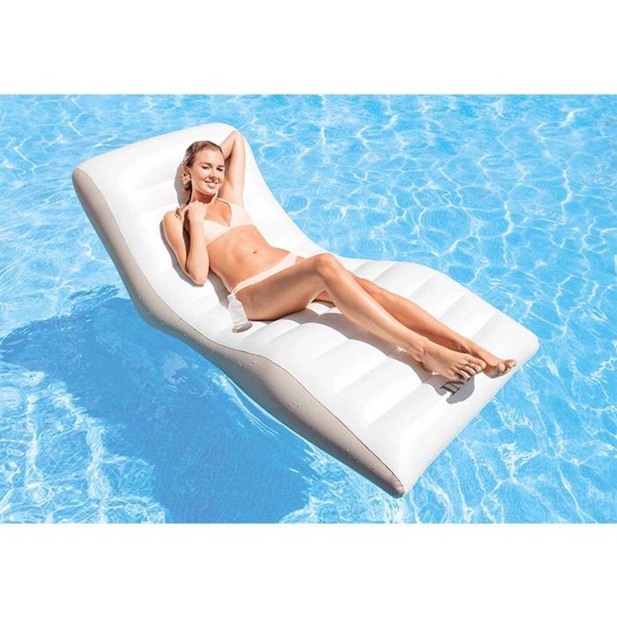 Intex wave lounge opblaasbaar luchtbed