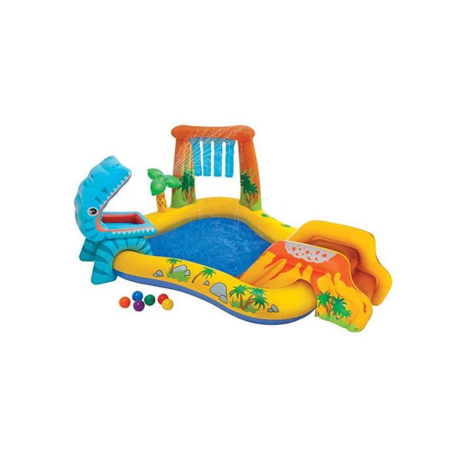 Intex speelzwembad met glijbaan-1