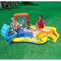 Intex speelzwembad met glijbaan