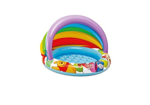 Intex Winnie the Pooh baby pool met overkapping