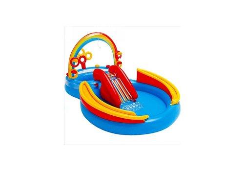 Intex regenboog speelzwembad