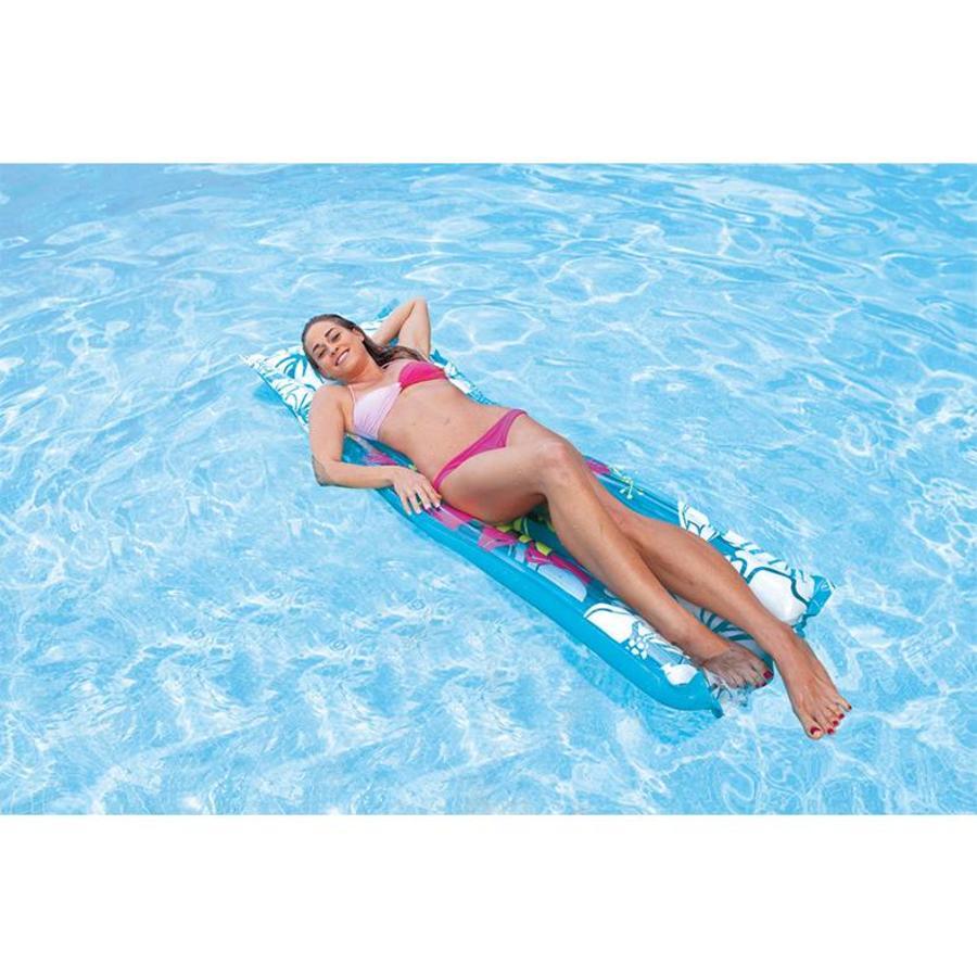 Intex bloemen luchtbed voor in zwembad verkrijgbaar in meerdere kleuren!-4