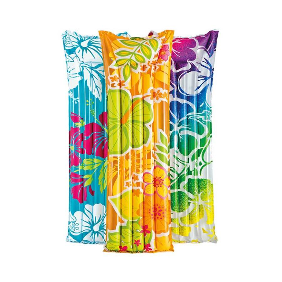 Intex bloemen luchtbed voor in zwembad verkrijgbaar in meerdere kleuren!-1