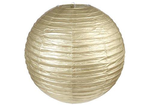 Lampion goud diameter 50 cm
