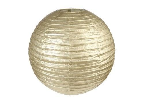 Lampion goud diameter 30 cm