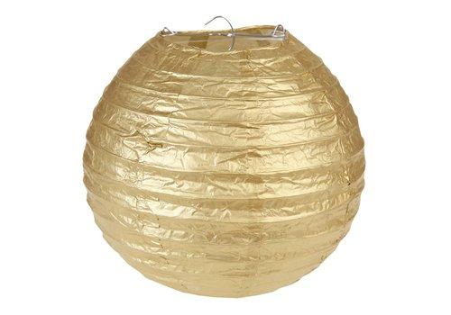 Lampion goud diameter 20 cm