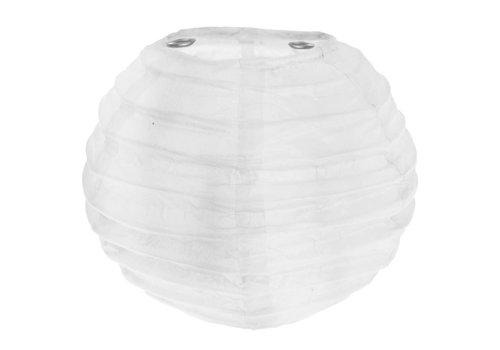 Lampion wit  (2 stuks) diameter 10 cm