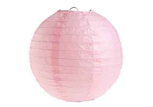 Lampion roze (2 stuks) diameter 30 cm