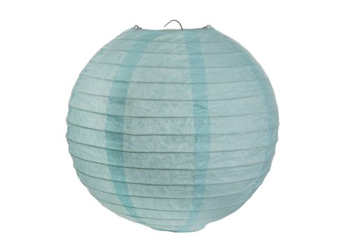 Lampion bleu (2 pièces) diamètre 30 cm
