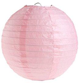 Perfect Decorations Lampion roze diameter 50 cm