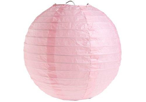 Lampion roze diameter 50 cm