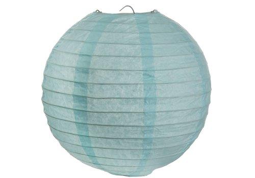Lampion blauw diameter 50 cm