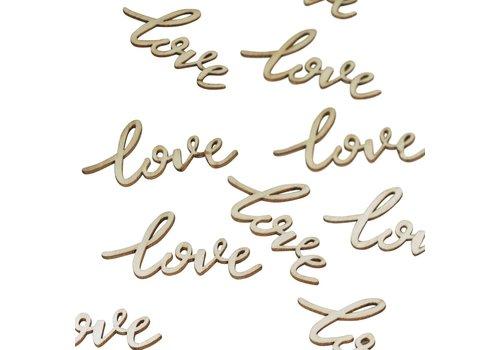 Tafel confetti love (25 stuks)