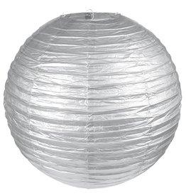 Perfect Decorations Lampion zilver diameter 20 cm
