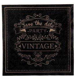 Perfect Decorations Servetten vintage (20 stuks)