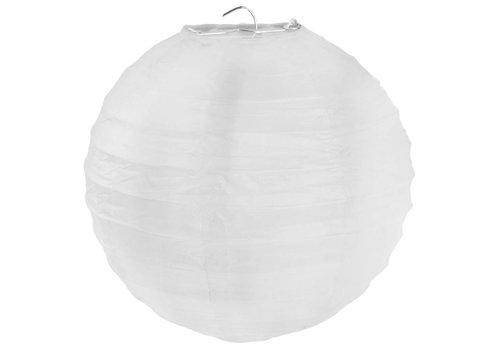 Lampion wit diameter 75 cm
