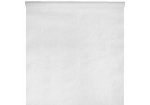 Tafelkleed papier wit (10 meter)