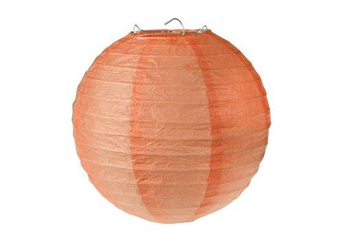 Lampion koraal diameter 20 cm (2 stuks)