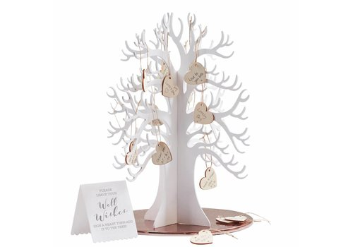 Alternatief gastenboek, wishing tree
