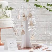 Alternatief gastenboek, wishing tree